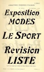 Modernes, Exemple, Modernes, n° 4