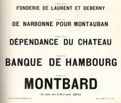 Caractères d'affiches Laurent & Deberny, Exemple, Caractères d'affiches Laurent & Deberny, n° 2