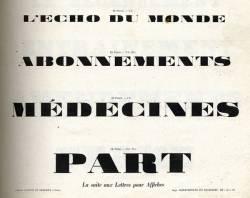 Caractères d'affiches Laurent & Deberny, Exemple, Caractères d'affiches Laurent & Deberny, n° 3