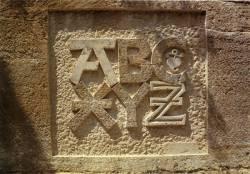 Lettres de pierre, Exemple, Lettres de pierre, n° 1
