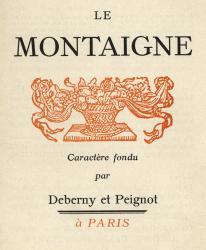 Montaigne, Exemple, Montaigne, n° 5