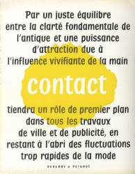 Contact, Exemple, Contact, n° 1