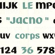 Jacno, Exemple, Jacno, n° 6