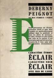 Eclair, Exemple, Eclair, n° 1