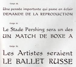 Gauloises, Exemple, Gauloises, n° 1
