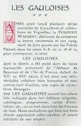 Gauloises, Exemple, Gauloises, n° 2