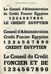 Egyptienne Warnery, Exemple, Egyptienne Warnery, n° 2