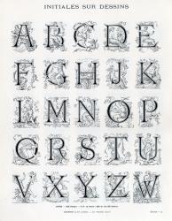 Initiales Deberny, Exemple, Initiales Deberny, n° 1