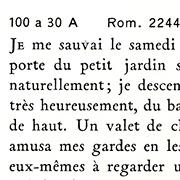 Garamond Peignot, Exemple, Garamond Peignot, n° 8