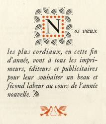 Garamond Peignot, Exemple, Garamond Peignot, n° 10
