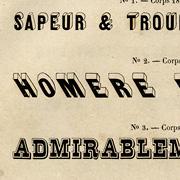 Titrages Poirier, Exemple, Titrages Poirier, n° 3
