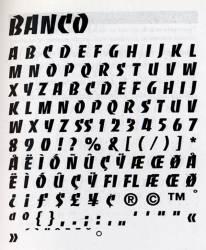 Banco, Exemple, Banco, n° 7