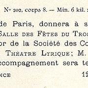 Maigrettes Turlot, Exemple, Maigrettes Turlot, n° 1