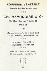 Midinettes, Exemple, Midinettes, n° 2
