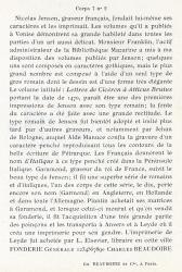 Elzévir Beaudoire, Exemple, Elzévir Beaudoire, n° 3