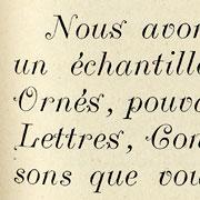 Italiques Ornés, Exemple, Italiques Ornés, n° 1