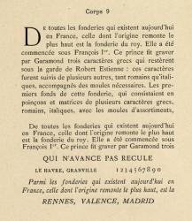 Elzévir français, Exemple, Elzévir français, n° 3, corps 9