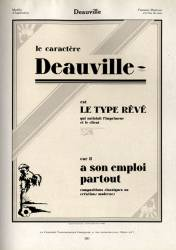 Deauville, Exemple, Deauville, n° 1