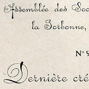 Ecriture parisienne, Exemple, Ecriture parisienne, n° 1