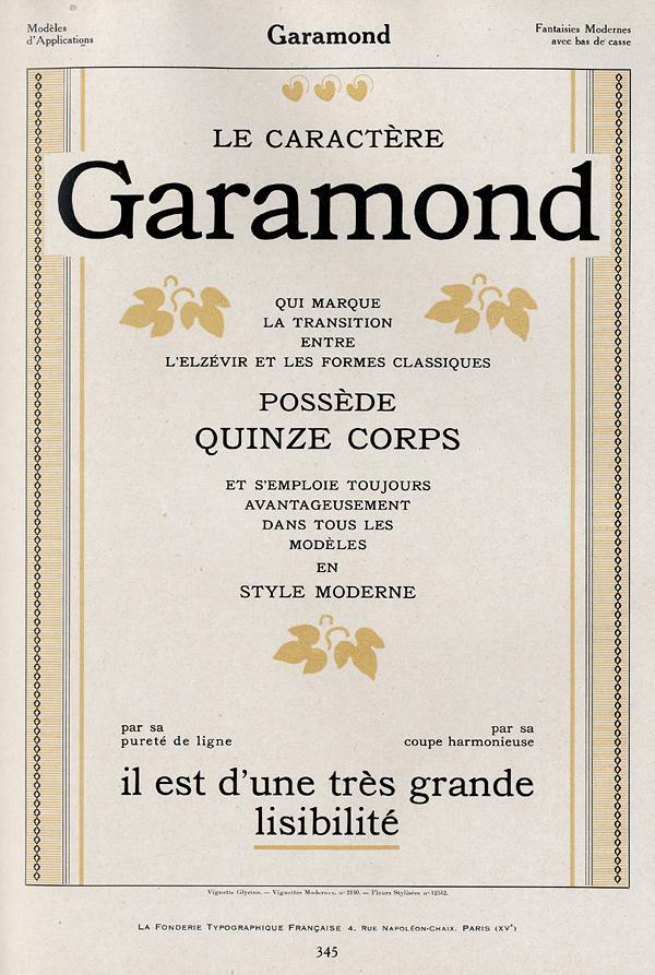 Garamond FTF