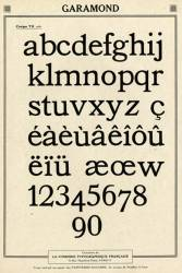Garamond FTF, Exemple, Garamond FTF, n° 5