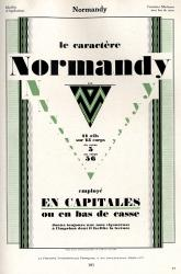 Normandy, Exemple, Normandy, n° 1