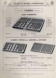 Matériel typographique, Exemple, Matériel typographique, n° 1