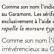 Gararond, Exemple, Gararond, n° 4