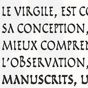 Virgile, Exemple, Virgile, n° 5