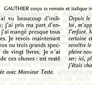 Gauthier, Exemple, Gauthier, n° 4