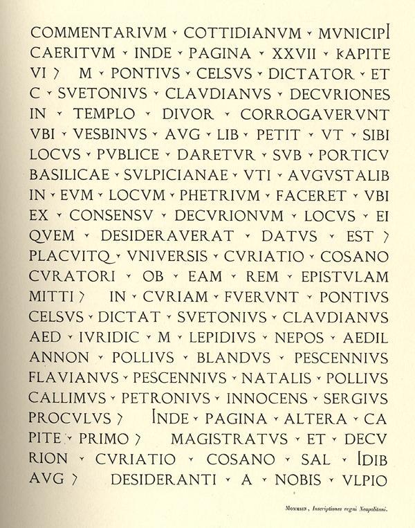 Latin Épigraphique