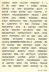 Latin Épigraphique, Exemple, Latin Épigraphique, n° 3