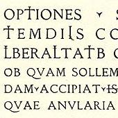 Latin Épigraphique, Exemple, Latin Épigraphique, n° 4