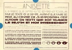 Anisette, Exemple, Anisette, n° 6