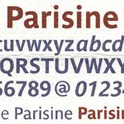 Parisine, Exemple, Parisine, n° 1