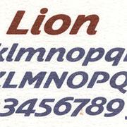 Lion, Exemple, Lion, n° 1