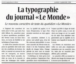 Le Monde, Exemple, Le Monde, n° 13