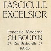Excelsior Boudin, Exemple, Excelsior Boudin, n° 1