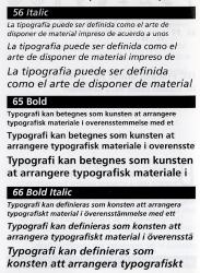 Frutiger, Exemple, Frutiger, n° 2