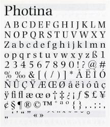 Photina, Exemple, Photina, n° 1