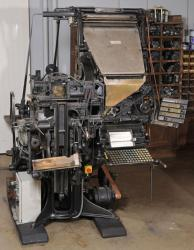 Machine Linotype, Exemple, Machine Linotype, n° 1