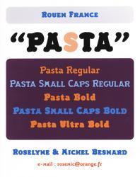 Pasta, Exemple, Pasta, n° 1