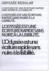 Odyssée, Exemple, Odyssée, n° 2