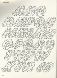 Fantastic alphabets, Exemple, Fantastic alphabets, n° 4