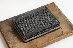 Gestes du typographe, 3. Ficelage et tirage d'une épreuve, Exemple, Gestes du typographe, 3. Ficelage et tirage d'une épreuve, n° 5