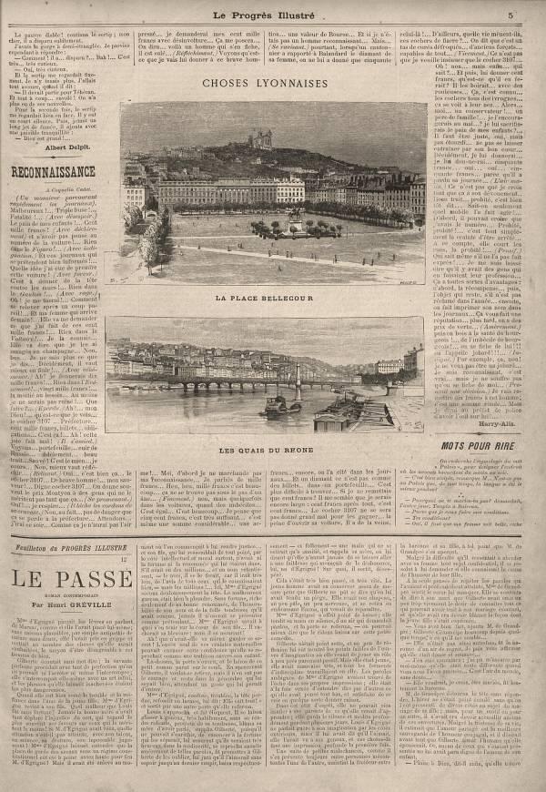 Les quais du Rhône : choses lyonnaises