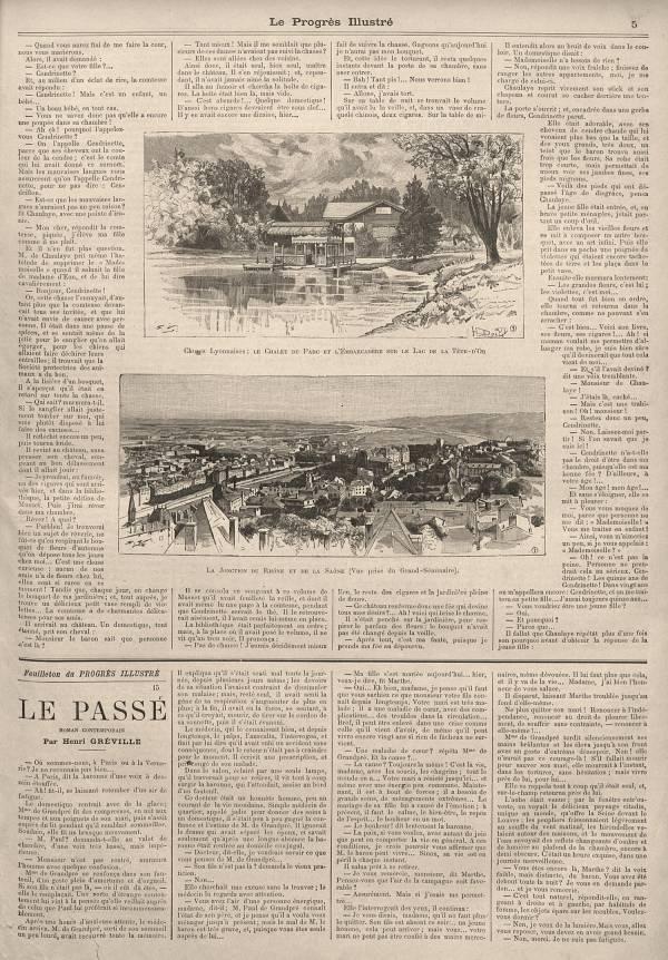 La jonction du Rhône et de la Saône : choses lyonnaises