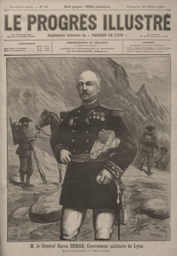 M. le Général Baron Berge, Gouverneur militaire de Lyon