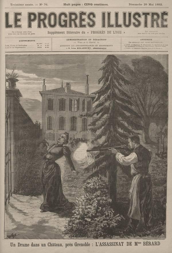 Un drame dans un château près de Grenoble