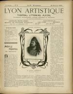 LYON ARTISTIQUE, Deuxième Année - N°8